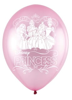 Balony lateksowe LED Disney Princess (5szt.)