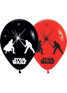 Balony lateksowe LED Star Wars (5szt.)