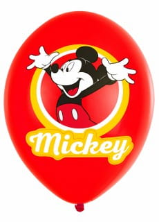 Balony lateksowe MICKEY MOUSE (6szt.)