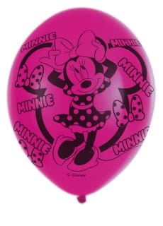 Balony lateksowe MINNIE MOUSE (6szt.)