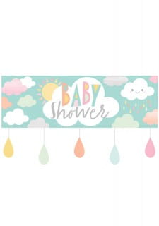 Baner CHMURKA Baby Shower