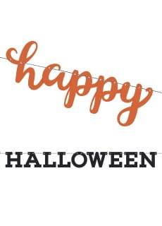 Girlanda HAPPY HALLOWEEN