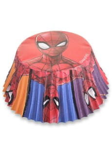 Papilotki do muffinek SPIDERMAN (50szt.)