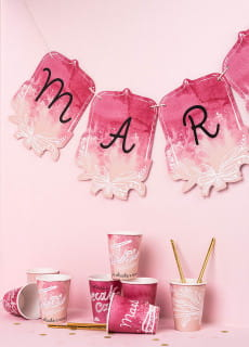 Girlanda personalizowana BABY SHOWER GIRL
