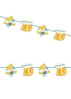 Girlanda OKTOBERFEST BEER MUGS