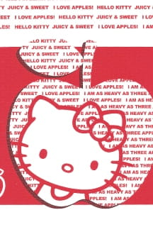 Obrus papierowy HELLO KITTY APPLE 120x180cm