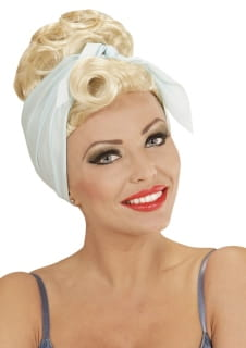 Peruka PIN UP blond
