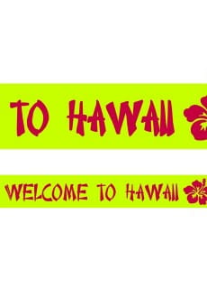 Taśma imprezowa WELCOME TO HAWAII