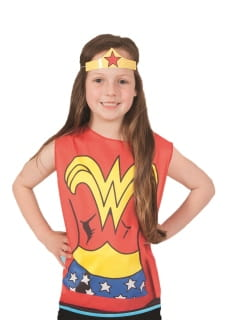 Zestaw WONDER WOMAN DC COMICS GIRL - 3-6 lat